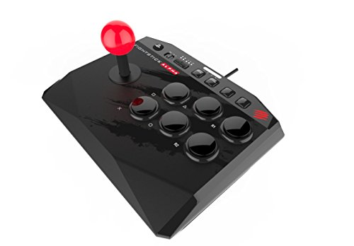 マッドキャッツアーケードファイトスティックアルファAlpha(PlayStation3/PlayStation4)(MCS-FS-MC-ALP)本体重量675g本体幅21cm軽量コンパクト30mm標準サイズボタン35Φレバーボール6ボタンSFレイアウトLEDライトバー搭載