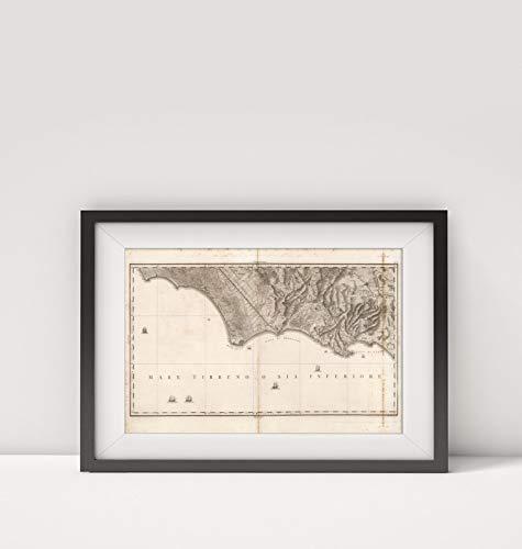 1804 Map of Italy|No. 9. Terracina, Fondi, Gaeta|Naples Region (Italy)|Sicily (Italy)|Title: No. 9.