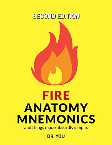 Fire Anatomy Mnemonics (and things made absurdly simple) (English Edition)