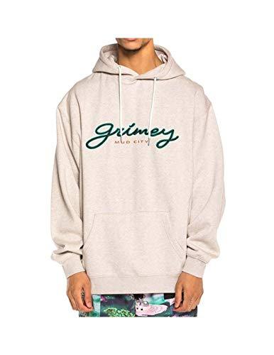 GRIMEY Sudadera Acknowledge Hoodie SS20 Sport Grey-M