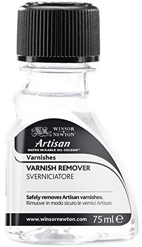 Winsor & Newton Artisan Water Mixable Mediums Varnish Remover, 75ml