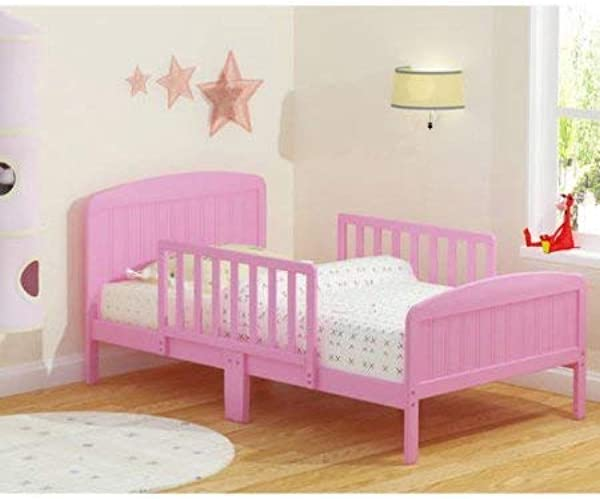 Beautifully Crafted Russell Children Products Harrisburg Wood Toddler Bed Pink