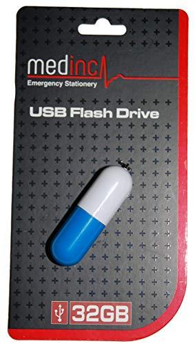 Medinc Vitamina Farmaci per Pillole 32GB USB PenDrive (1 x Colore Casuale)