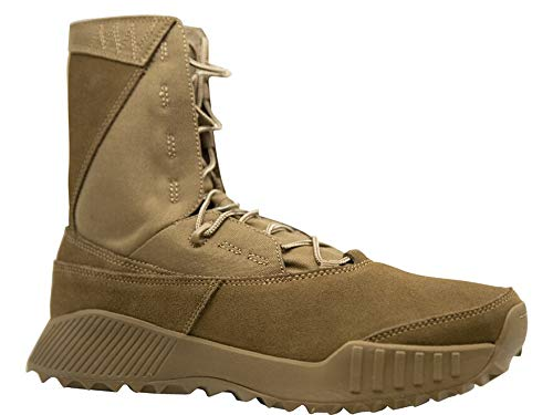 """Oakley Elite Assault Boot Coyote Size 10.5 Lace-Lock System 8"""" Stack"""