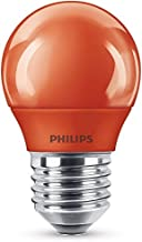 Philips Ledlamp, E27, feestlicht, rood, ideaal voor feestverlichting, druppels