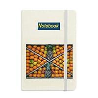 新鮮な植物の果実の写真撮影 ノートブッククラシックジャーナル日記A 5