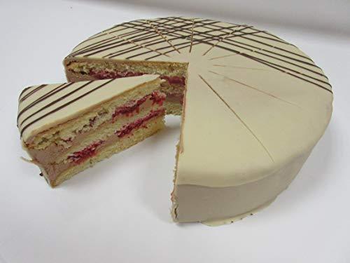 Vegane Schoko-Creme-Himbeer Torte