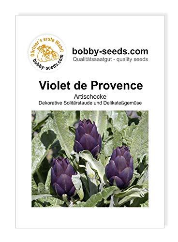Bobby-Seeds Artischockensamen Violet de Provence Portion