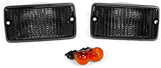 DEPO Smoke Front Bumper Signal Lights FIT FOR 1997-2006 Jeep Wrangler TJ