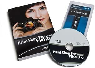 Corel Paint Shop Pro Photo X2 Ultimate Software w/2GB USB Flash Drive