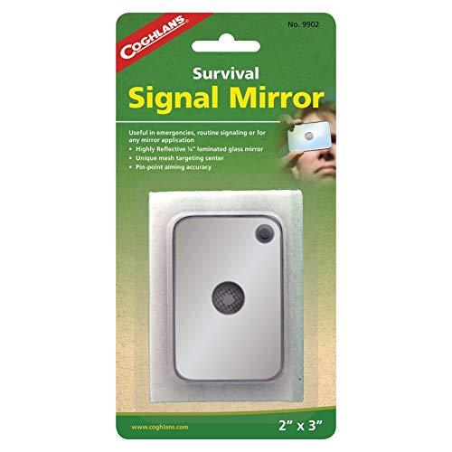 Coghlan Signal de survie du Miroir, taille: 3x 2par Coghlan de