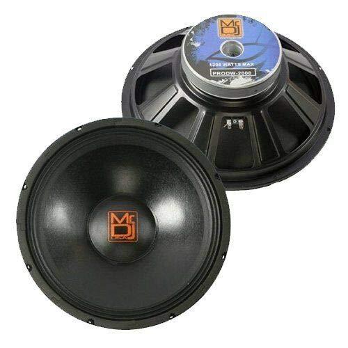 "MR DJ PA DJ Replacement 15"" PA Speaker 8 Ohm Woofer for EV ZLX-15P"
