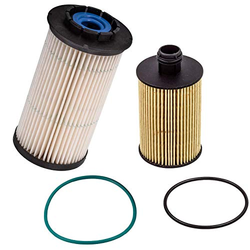 DOC'S Ram 1500 3.0L EcoDiesel Filter Set 2014-2019 | Replaces 68235275AA, 68229402AA | High Efficiency 3 Micron