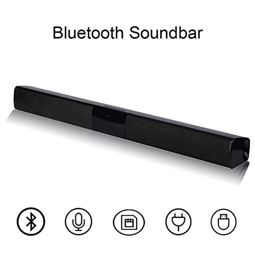 DBGS Draadloze zuil Bluetooth luidspreker TV soundbar stereo audio home theater geluid bar USB TF voor TV PC 20W