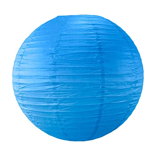 SKYLANTERN Boule Papier 50cm Bleu Roi