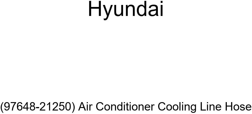 Genuine Los Angeles Mall Hyundai 97648-21250 Max 42% OFF Air Cooling Hose Line Conditioner