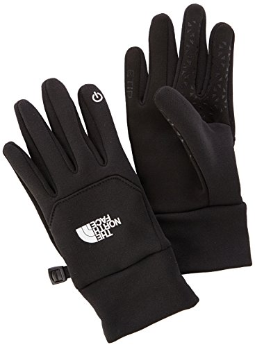 The North Face W Glove Guantes Etip para Mujer, Negro (TNF Black), XS