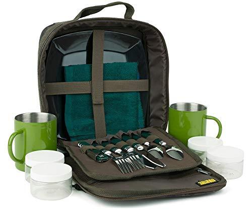 SHIMANO Tribal Sync Gear, Picknickset, Anglerzubehör Tasche, 27x25x10cm, SHTSC07
