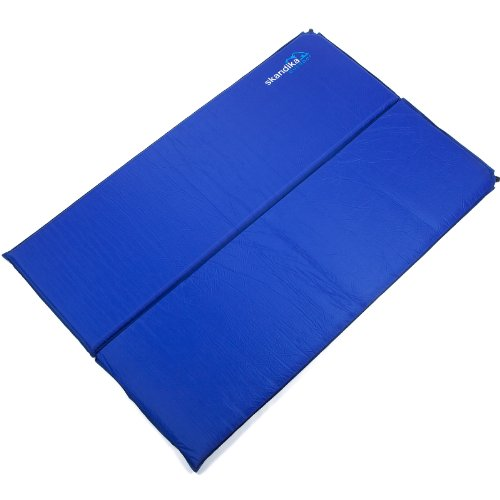 Skandika Blue Night Superior Double 5 selbstaufblasende Doppel-Isomatte (198x130x5cm)