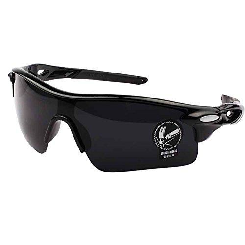WeiMay Gafas de Sol de Ciclismo, polarizado antideslumbrante Lluvia día visión Nocturna Ciclismo Gafas de Sol Deportivas Gafas de Sol para Hombres Mujeres