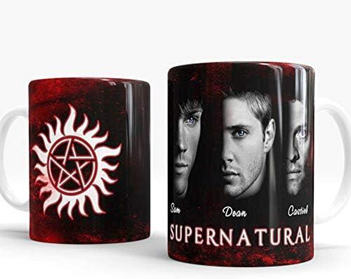 Supernatural Merchandise Heat Sensitive Changing Funny Mug Cool Coffee Tea Unique Magic Color product image