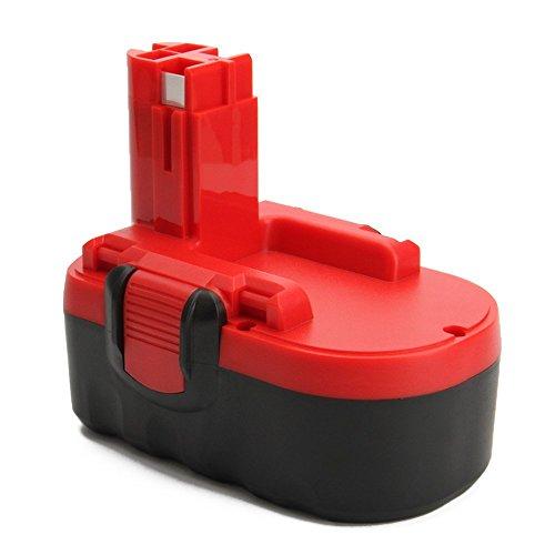 Creabest Reemplazo Batería de Ni-MH de 18V 3,0Ah para Bosch 2607335277 2607335278 2607335535 2607335536 2607335680 2607335695 2607335713 BAT025 BAT160 BAT180 13618 1644K 3860CK 52318 PSB 18 VE-2