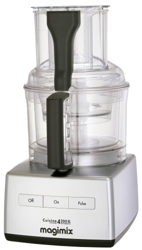 Magimix 4200XL Food Processor, Satin Steel - 18422 - *** BRITISCHER IMPORT ***