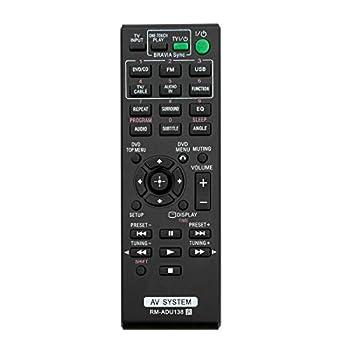 NKF New RM-ADU138 Replace Remote for Sony DAV-TZ140 HBD-TZ140 DAV-TZ145 DAV-TZ150