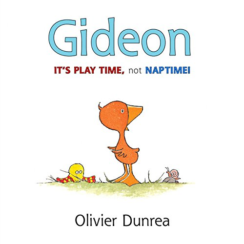 Gideon: It's Play Time, Not Naptime…