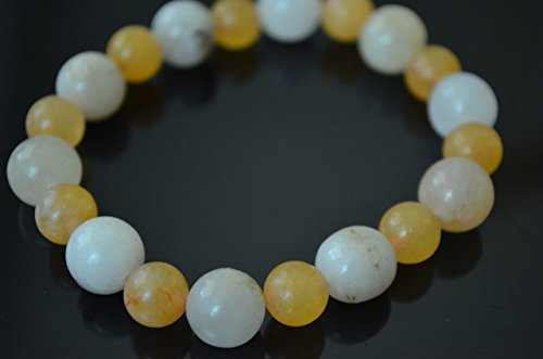 Himalaya Gold Azeztulite Beaded Stretch Bracelet Healing Protection All Sizes Available