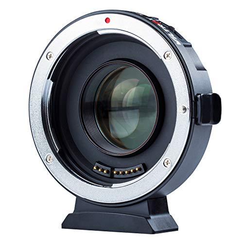 VILTROX EF-M2 II Elektronischer Autofokus 0,71 x Reduziergeschwindigkeit Booster Objektivadapter für Canon EF Objektiv auf M4/3 Kamera GH5 GH4 GF1 GX85 E-M5 E-M10 E-M10II E-PL3 Pen-F - MEHRWEG
