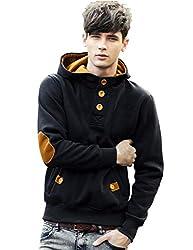 Seven Rocks Cotton Mens Hoodie Sweatshirt Jacket