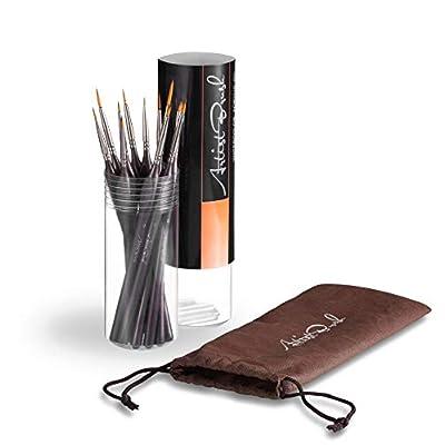 Detail Painting Brush Set, Paint Brush Set, Oil...