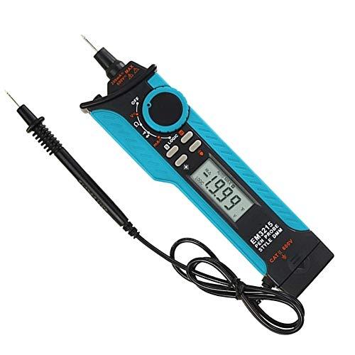 Sbeautli Detector de Voltaje Tipo Pluma Tipo multímetro Digital de Alta precisión lápiz automático de detección de Circuito y la prevención de Quemaduras Portable Professional Oscilloscope Kit