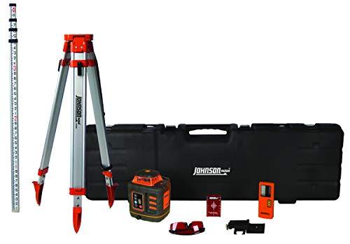 Johnson Level & Tool 99-027K Self-Leveling Rotary Laser System, Hard Case Kit