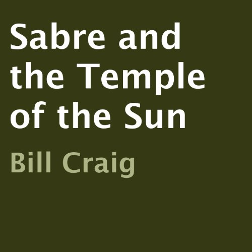 Sabre and the Temple of the Sun audiobook cover art