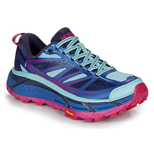 Hoka One One Mafate Speed 2 Deportivas Mujeres Azul/Fucsia Running/Trail Shoes