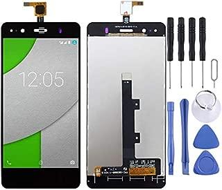 LDK Pantalla Juego de Repuesto for BQ Aquaris A4.5 (Negro) Pantalla LCD táctil digitalizador Asamblea Completa + Herramienta de reparación Completa (Color : Black)