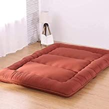 Futon mattressTatami Floor Mat Sleeping,Foldable Japanese Mattress Thickened Bed Mat,Student Dormitory Mattress Sleeping p...