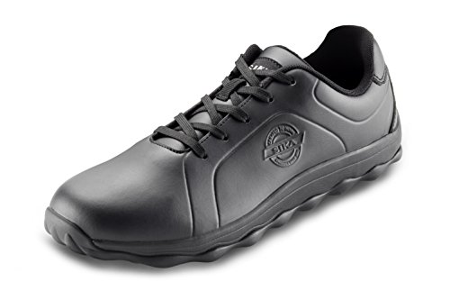Sika 50012 Bubble Step - Sneaker Berufsschuh - Geeignet für Krankenhaus und Pflege, Gastronomie (HORECA) und Küche, Pharmaindustrie, Dienstleistung und Reinigung - Schwarz - Gr. 40