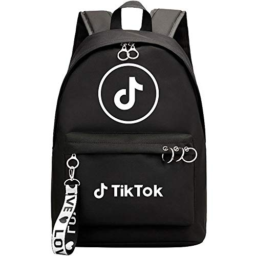 Bucket White Font Backpack, Notebook Backpack, Out-of-The-Office Photo Backpack. 42CMX30CMX14.5CM. Black.