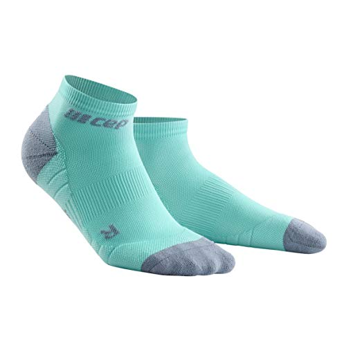 CEP – Low Cut Socks 3.0 für Damen | Kurze Sportsocken für Dein Workout in hellblau/grau | Größe III