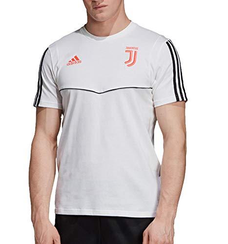 adidas 19/20 Juventus tee Camiseta de Manga Corta, Hombre, Blanco (White/Black), L