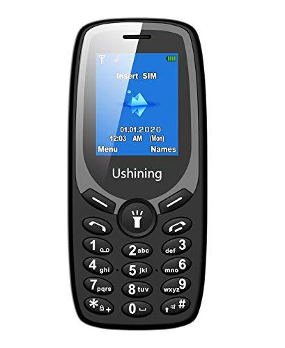 3G Mobiltelefon, Einfach Tasten Handys Ohne Vertrag (1.8 Zoll Farbdisplay, FM Radio, 4MB ROM, Dual-SIM,Passt in Jede Hosentasche)