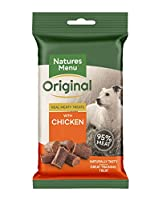 The ultimate real meat training treat. Made with 95% real chicken and pork. An irresistible reward treat for dogs. Gluten free High meat content training treats, Made with high quality Chicken and Pork, Contains no artificial flavours or colours Comp...