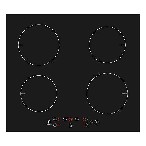 Soddyenergy - Piano di cottura a induzione, 4 zone