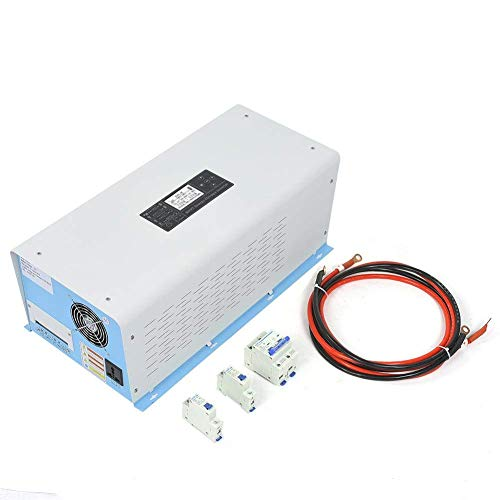 Review Of 3000W Pure Sine Wave Power Frequency Solar Inverter Charger 24VDC Input 200VAC Output SZWH...