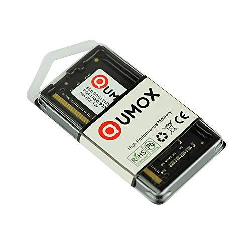 QUMOX 8GB DDR4 2133 2133MHz PC4-17000 PC-17000 (260 Pin) Memoria SODIMM 8GB