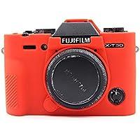 KoowlEU - Funda para cámara Fujifilm Fuji X-T30 X T30 XT30 Ultra delgada de silicona suave para cámara de cámara