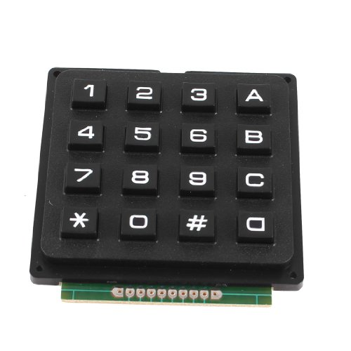 UXCELL 4X4 매트릭스 16 키보드 키패드 사용 키 그림 AVR 스탬프